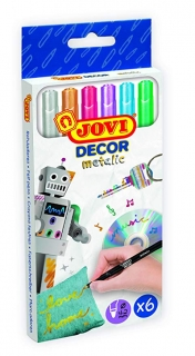Jovi Decor fixky - metalic (6ks)
