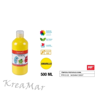Tempera 500ml  (žltá)