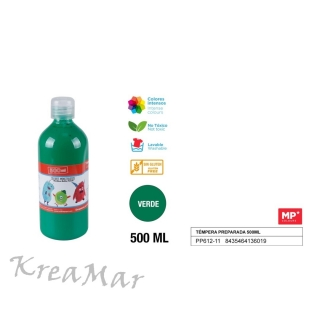 Tempera 500ml  (zelená)