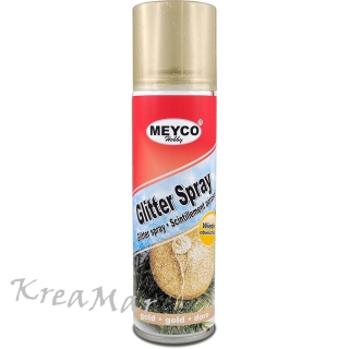 Glitter Spray 100ml - zlatý
